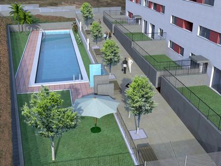 Fachada Residencial El Campillo 450